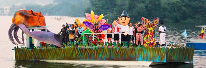 Desfile naútico - Agenda Fiestas de Guayaquil 2019