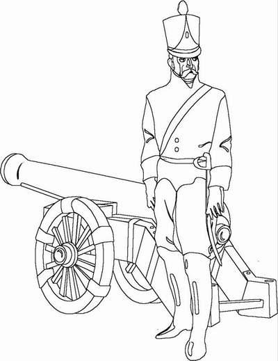 19 Imgenes de 24 de Mayo Batalla de Pichincha para Colorear