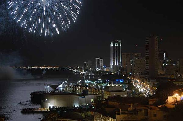 Juegos Pirotécnicos Guayaquil 2019 - Fecha y hora de los fuegos artificiales