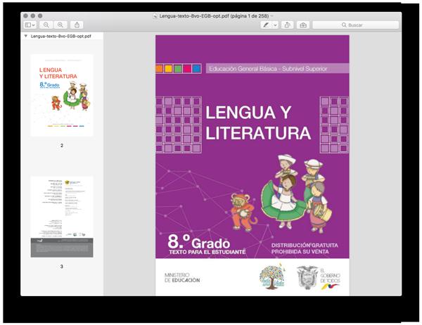 Libro De Lengua Y Literatura 8 De Basico Pdf Ministerio De