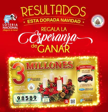 Lotería de Navidad 2019 Ecuador: Resultados del Sorteo (24 Diciembre)