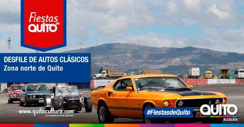 Desfile de autos clásicos, Fiestas de Quito