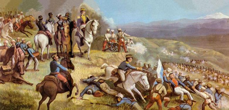 Resumen del 17 de Julio de 1823: Batalla de Ibarra