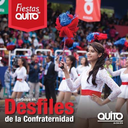 Desfile de la confraternidad Quito