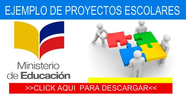Modelos Proyectos Escolares 2018 Ministerio De Educaci N