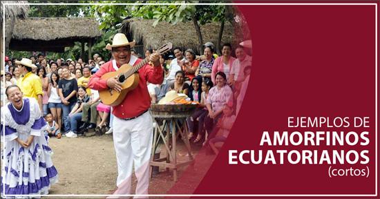 Amorfinos Ecuatorianos Cortos (ejemplos) - Amor, chistosos, románticos