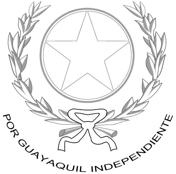 Escudo de Guayaquil para Colorear Foros Ecuador 2018