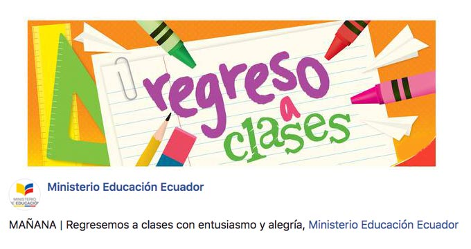 Inicio de Clases (Enero 2020): Fecha de regreso a clases Ministerio de Educación