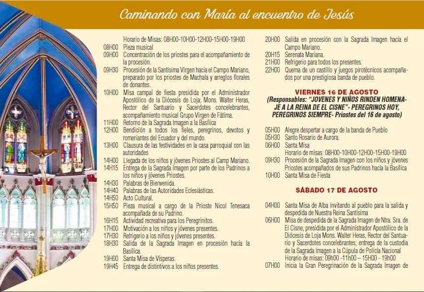 Romería Virgen del Cisne