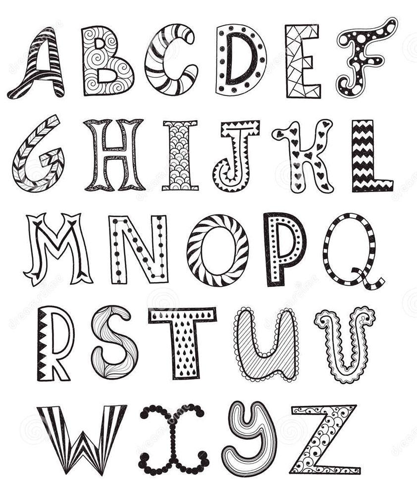Letras para car tulas de cuadernos 37 im genes foros - Letras de nombres para decorar ...