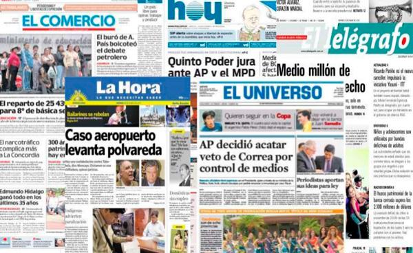 Periódicos del Ecuador: Diarios, prensa escrita y periódicos en línea