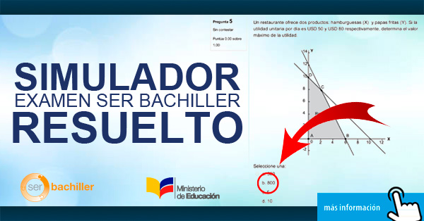 Examen Ser Bachiller (Resuelto)