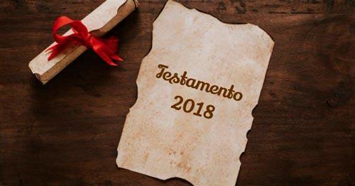 Ejemplos de Testamento de Fin de Año
