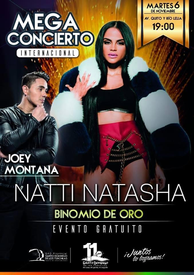 Resultado de imagen para natti natasha en santo domingo ecuador